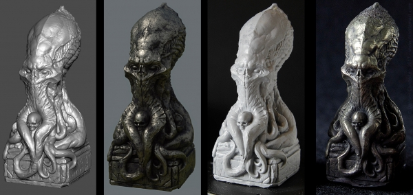 Damien_Canderle_CthulhuStatue2017