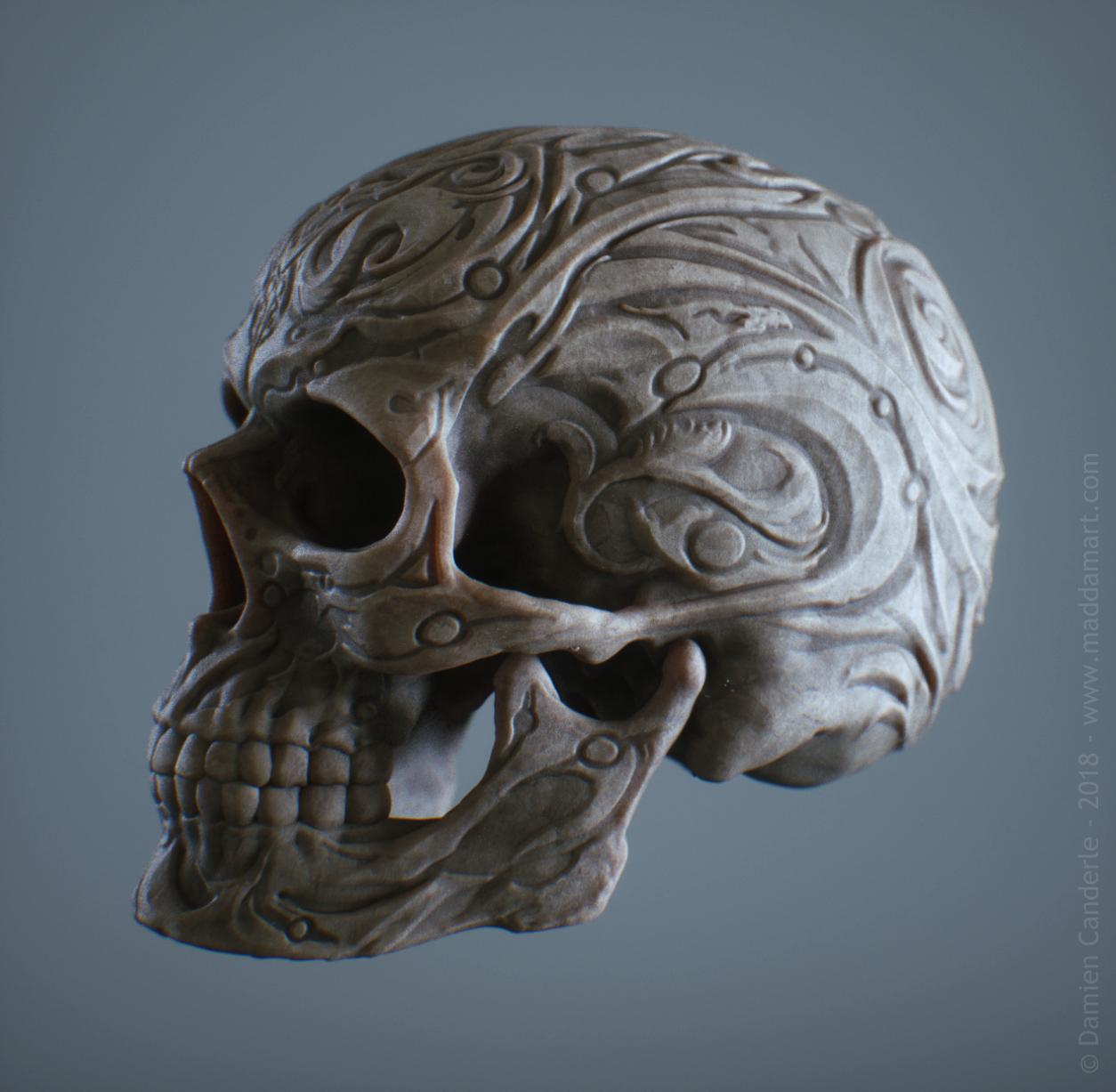 DamienCanderle_Skull_05e