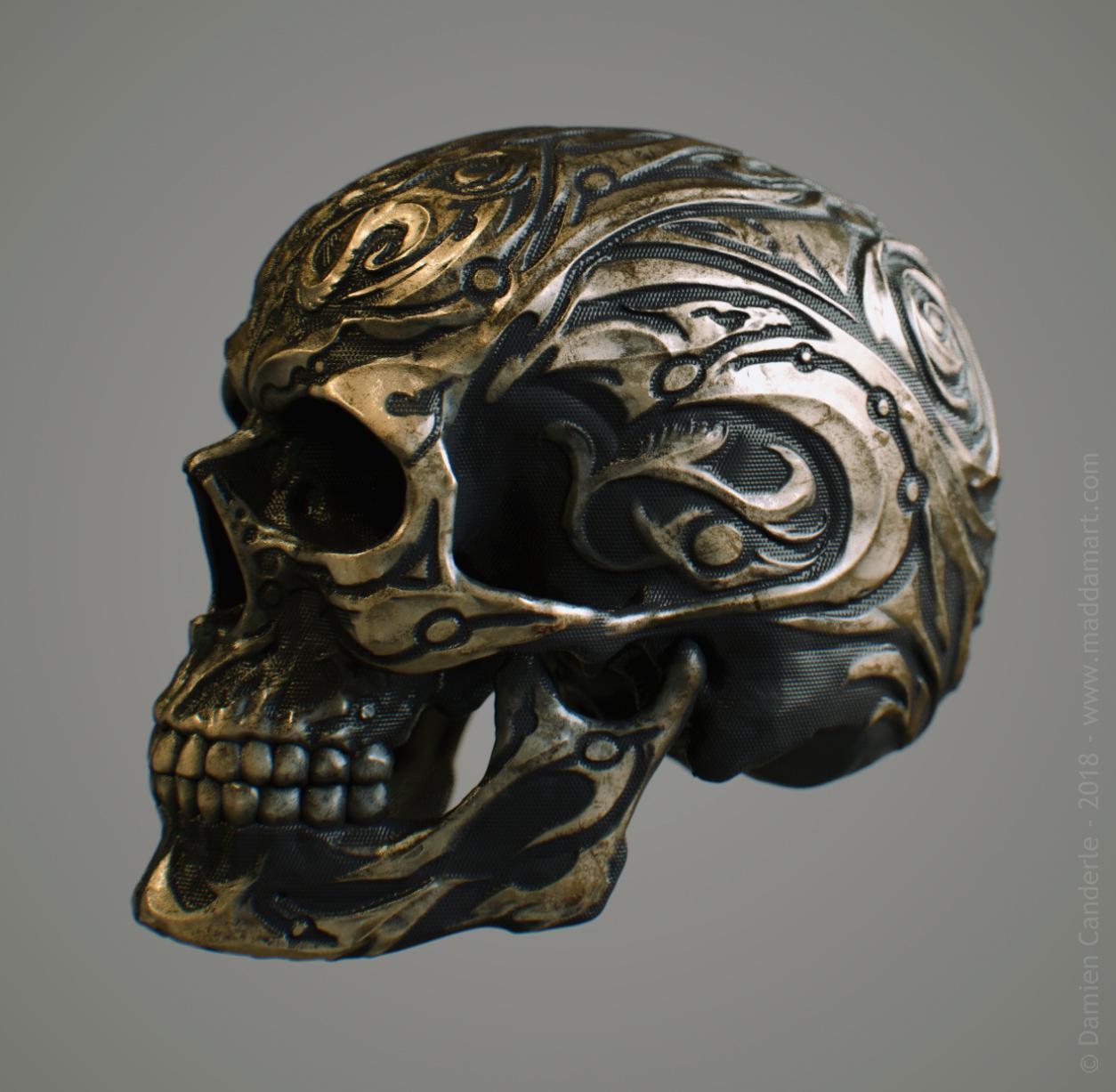 DamienCanderle_Skull_05h